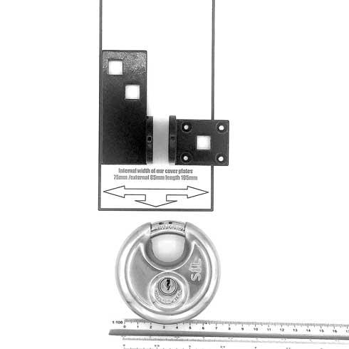 Mk7-T LSA plus Mk2 hasp and staple kit